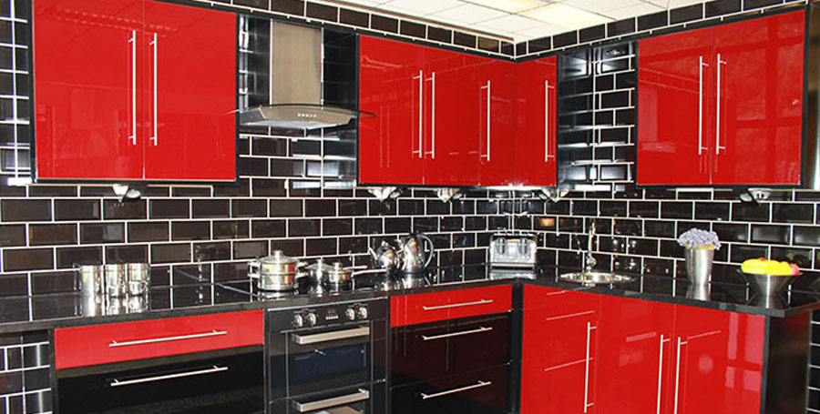 red kitchens – home design inspiration